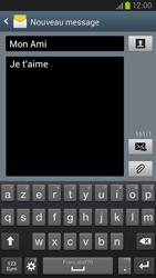 Samsung Galaxy S3 4G - Contact, Appels, SMS/MMS - Envoyer un SMS - Étape 10