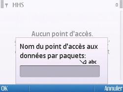 Nokia E5-00 - Mms - Configuration manuelle - Étape 11