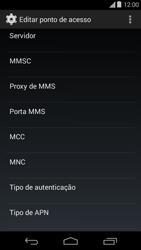 Motorola Moto E (1st Gen) (Kitkat) - Internet (APN) - Como configurar a internet do seu aparelho (APN Nextel) - Etapa 12