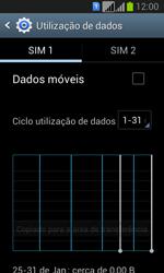 Samsung Galaxy Fresh Duos - Internet no telemóvel - Como ativar os dados móveis -  5