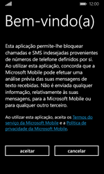 Microsoft Lumia 435 - Chamadas - Como bloquear chamadas de um número -  6