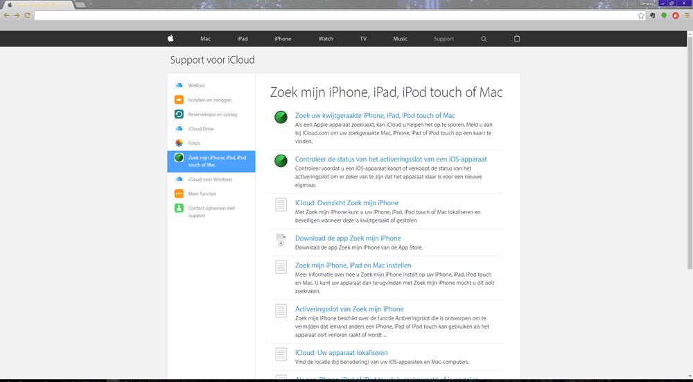 Apple iPhone 7 (Model A1778) - Beveiliging en ouderlijk toezicht - Vind mijn iPhone - Stap 2