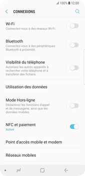 Samsung Galaxy S9 - Wi-Fi - Accéder au réseau Wi-Fi - Étape 5