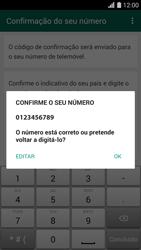 Huawei G620s - Aplicações - Como configurar o WhatsApp -  7