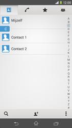 Sony Xperia M2 4G (D2303) - Contacten en data - Contacten kopiëren van toestel naar SIM - Stap 4