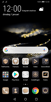 Huawei Mate 10 Pro Dual-SIM (Model BLA-L29) - Android Pie - SMS - SMS-centrale instellen - Stap 1