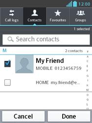 LG E430 Optimus L3 II - MMS - Sending a picture message - Step 6