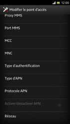 Sony LT28h Xperia ion - Internet - Configuration manuelle - Étape 13