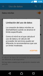 Sony Xperia M4 Aqua - Internet - Ver uso de datos - Paso 8