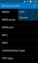 Samsung G357 Galaxy Ace 4 - MMS - Manual configuration - Step 15