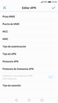 Huawei P10 Plus - Mensajería - Configurar el equipo para mensajes multimedia - Paso 12