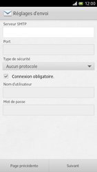 Sony LT28h Xperia ion - E-mail - Configuration manuelle - Étape 10