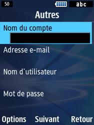 Samsung Solid 271 - E-mails - Ajouter ou modifier un compte e-mail - Étape 6