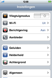 Apple iPhone 3G S - bluetooth - aanzetten - stap 3