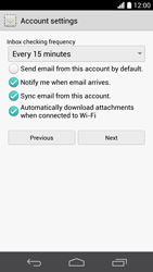 Huawei Ascend P6 LTE - E-mail - Manual configuration (yahoo) - Step 8