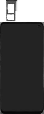 Samsung Galaxy S10e - Toestel - simkaart plaatsen - Stap 3
