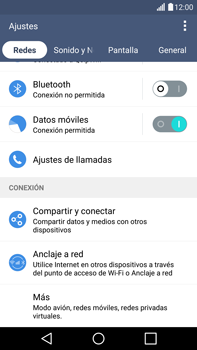 LG G4 - Mensajería - Configurar el equipo para mensajes multimedia - Paso 4