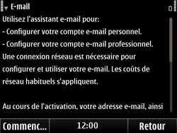 Nokia E6-00 - E-mail - Configuration manuelle - Étape 5