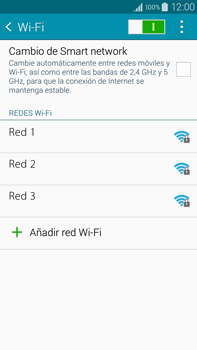 Samsung N910F Galaxy Note 4 - WiFi - Conectarse a una red WiFi - Paso 6