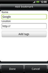 HTC A510e Wildfire S - Internet - Internet browsing - Step 6