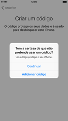 Apple iPhone 6 iOS 9 - Primeiros passos - Como ligar o telemóvel pela primeira vez -  17