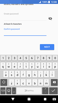 Sony Xperia XA2 Ultra - Applications - Create an account - Step 13