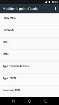 Motorola Moto Z Play - Internet - Configuration manuelle - Étape 13