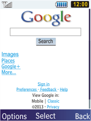 Samsung C3350 Xcover 2 - Internet - Internet browsing - Step 6