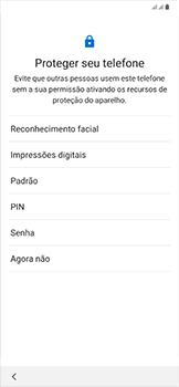 Samsung Galaxy A50 - Primeiros passos - Como ativar seu aparelho - Etapa 14