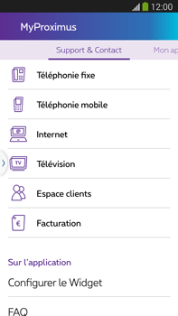 Samsung I8190 Galaxy S III Mini - Applications - MyProximus - Étape 22