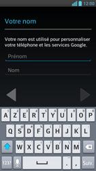 LG Optimus F6 - Premiers pas - Créer un compte - Étape 7