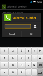 Alcatel OT-5036X Pop C5 - Voicemail - Manual configuration - Step 10