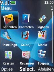 Nokia 6600 slide - E-mail - Handmatig instellen - Stap 4
