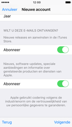 Apple iPhone 5 iOS 9 - Applicaties - Account aanmaken - Stap 17