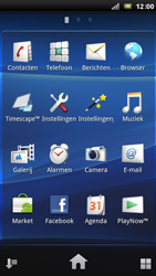 Sony Ericsson Xperia Arc - Internet - internetten - Stap 2