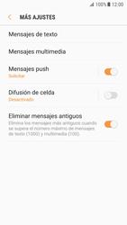 Samsung Galaxy S7 - Android Nougat - Mensajería - Configurar el equipo para mensajes de texto - Paso 7