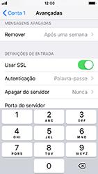 Apple iPhone 5s - iOS 12 - Email - Configurar a conta de Email -  24