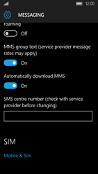 Acer Liquid M330 - SMS - Manual configuration - Step 8