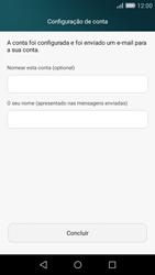 Huawei P8 Lite - Email - Configurar a conta de Email -  19