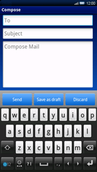 Sony Ericsson Xperia X10 - Email - Sending an email message - Step 5
