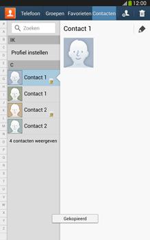 Samsung T315 Galaxy Tab 3 8-0 LTE - Contacten en data - Contacten kopiëren van SIM naar toestel - Stap 10