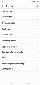 Huawei P20 - Toestel - Software update - Stap 5