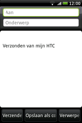 HTC A6262 Hero - E-mail - hoe te versturen - Stap 6