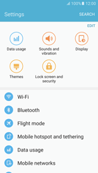 Samsung Samsung G920 Galaxy S6 (Android M) - Wi-Fi - Connect to a Wi-Fi network - Step 4