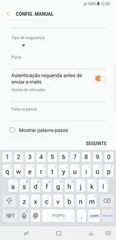 Samsung Galaxy Note 8 - Email - Configurar a conta de Email -  12