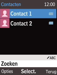 Nokia 225 (Type RM-1012) - Contacten en data - Contacten kopiëren van SIM naar toestel - Stap 4