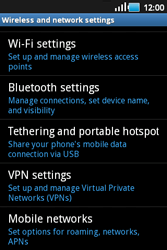 Samsung S5660 Galaxy Gio - Internet - Enable or disable - Step 5
