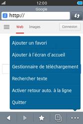 Samsung Wave M - Internet et connexion - Naviguer sur internet - Étape 7