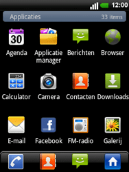 LG C660 Optimus Pro - E-mail - e-mail instellen: POP3 - Stap 3