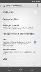 Sony Xpéria M2 - Aller plus loin - Désactiver les données à l'étranger - Étape 5
